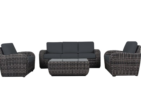 Provence 4 Piece Outdoor Lounge Setting