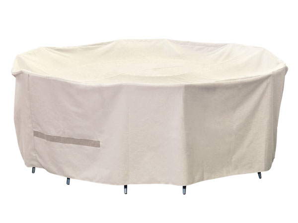 7 Piece Round Outdoor Table Setting Cover