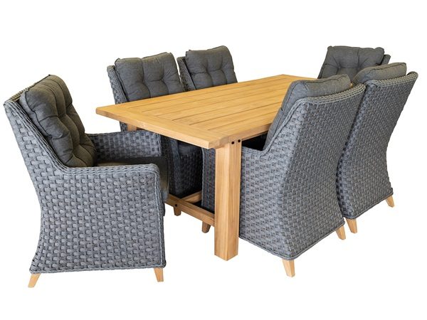 Providence  7 Piece Outdoor Dining Setting